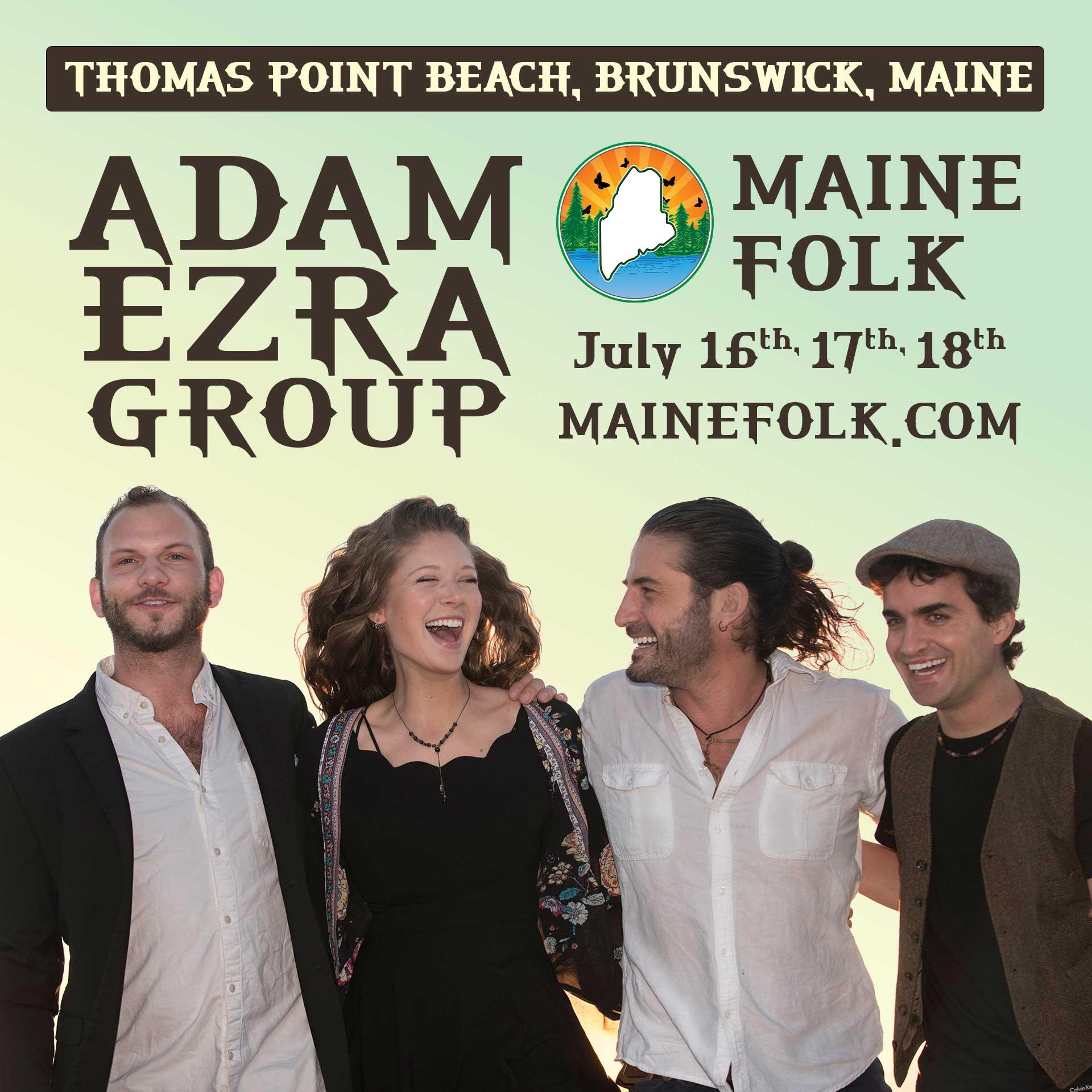 Adam Ezra, Maine Folk