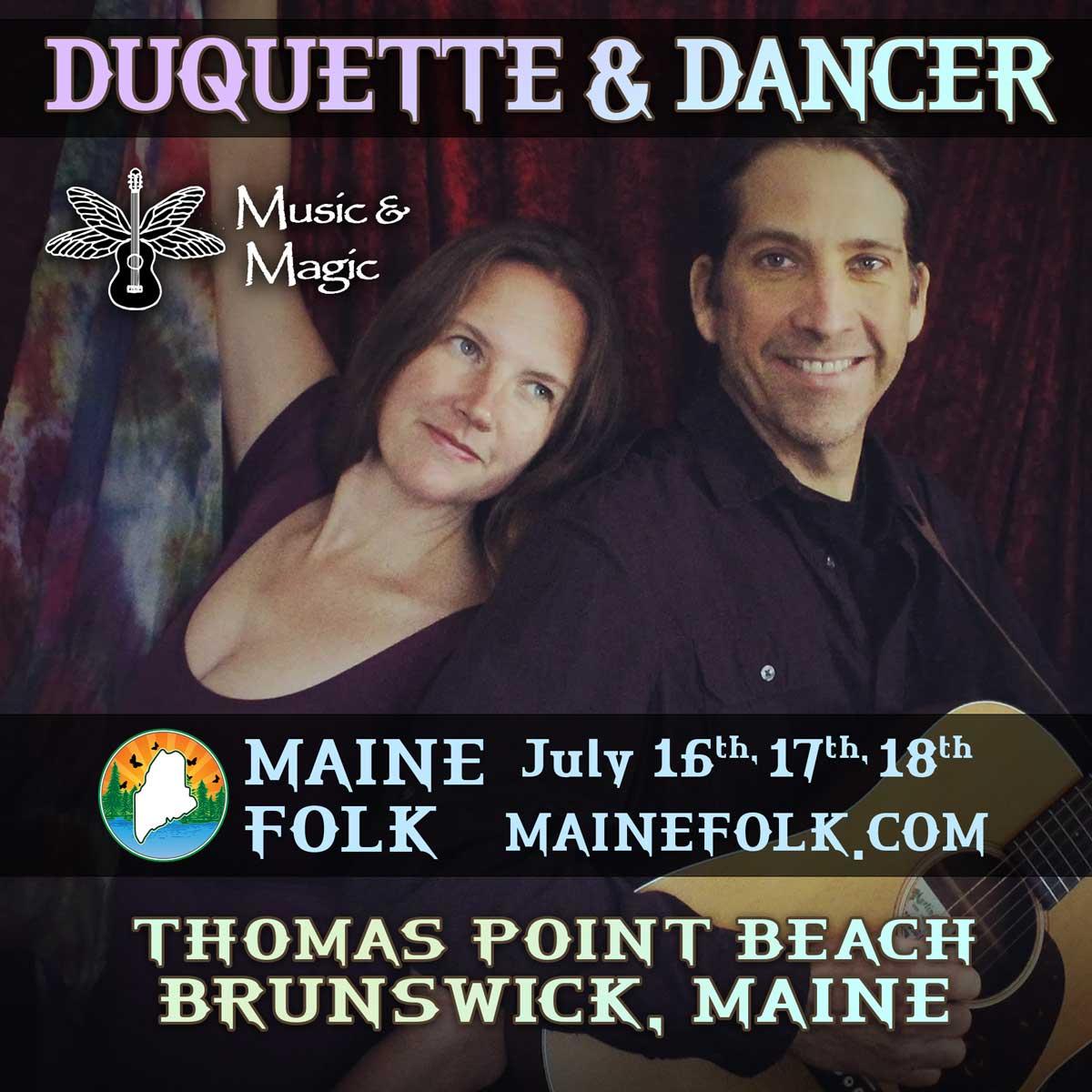Duquette & Dancer - Music & Magic